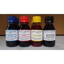 Tinta Corante Impressora Inkjet - Hp|canon|lexmark - 100 Ml