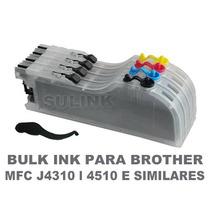 Bulk Ink Para Brother J4310 J4510 J4710 J6520 J6720 Semtinta