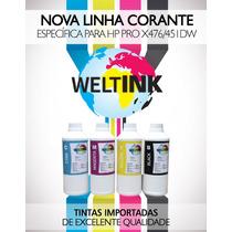 Tinta Corante Específica Para Hp 8000 / 8500 / 8600 1 Litro