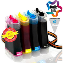 Bulk Ink Hp Para Deskjet D1460 + 120ml De Tinta Alemã