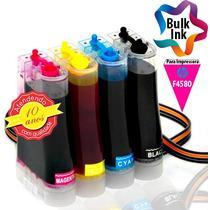Bulk Ink Hp Para Multifuncional F4580 + 120ml De Tinta Alemã