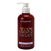 Alfaparf Jeans Color - Coloração Direta Em Creme - Deep Red