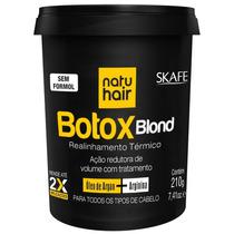 Botox Blond Redutor De Volume Skafe Natu Hair 210g