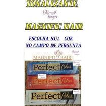 Magnific Hair, Escolha A Cor Do Tonalizante Perfect Color