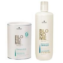 Schwarzkopf Blond Me Premium Lift 9+ Descolorante + Oxidante