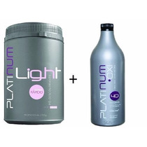 Pó Descolorante Platinum Light + Oxi Felithi + Brinde
