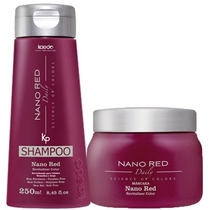 Kaedo Shampoo E Máscara Nano Red