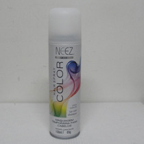 Neez Spray Colorido Branco Para Cabelos 120 Ml Temporaria