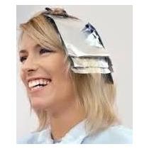Papel Laminado Aluminio Para Luzes Mechas 1kg Cabeleireiro