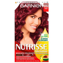 Coloração Garnier Nutrisse 6660 Rouge
