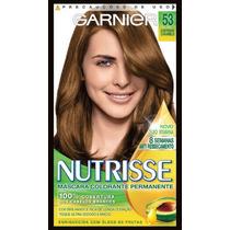 Coloração Garnier Nutrisse 53 Castanho Caramelo