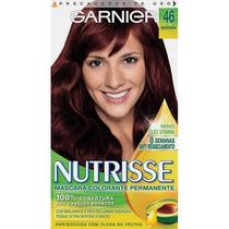 Coloração Garnier Nutrisse 46 Borgonha