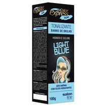 Kit Tonalizante Color Express Fun Salon Line Light Blue 100g