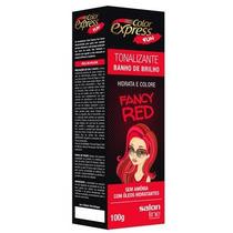 Kit Tonalizante Color Express Fun Salon Line Fancy Red 100g