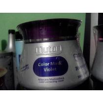 Mutari Color Mask Violet Máscara Violeta Matizador