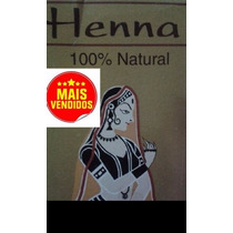 Ruiva Henna Indiana 100% Natural Tintura Tinta Cabelo 100g