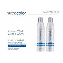 Kit Matizador - Shampoo + Mascara 300ml - Nutra Hair
