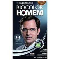 Shampoo Tonalizante Biocolor Homem - Castanho Claro