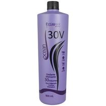 Água Oxigenada Platinum Cremosa 30 Volumes 900ml Ocean Hair