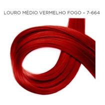 Coloração Tinta Felithi - Castanho Claro Vermelho Fogo 5.666