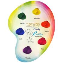 Máscara Cosplay 6 Cores Color Candy Exotic - Ocean Hair
