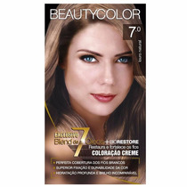 Tintura Beauty Color 7.0 Louro Natural