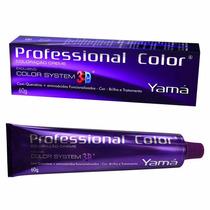 Tintura Cabelo Professional Color Sytem 3 D Nº 5 - 60g Yama