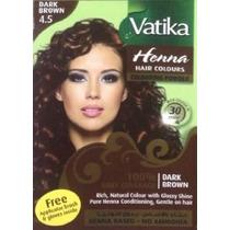 01 Hair Colours Henna Vatika 4.5 - Promoção De Carnaval