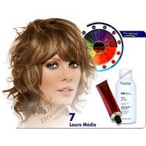 Tinta Louro Medio Nº7 Designer Color + Ox 120ml Tec Italy