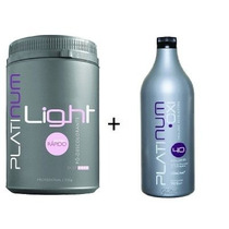 Pó Descolorante Platinum Light + Oxidante Felithi