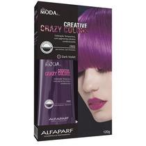 Alfaparf Crazy Colors Tonalizante Cabelo Exotic Dark Violet