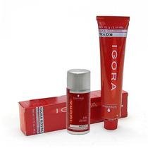 Coloração Igora 8-77 + Agua Oxigenada 10/20/30/40 Vl - 60 Ml