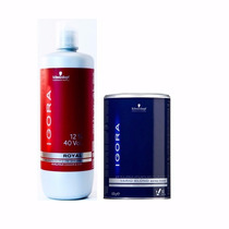 Descolorante Igora Blond Plus Extra Power 450g +oxidante 40v
