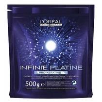 Descolorante Infinie Platine Pró-queratina Loreal 500g