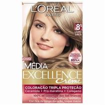 Coloração Loréal Imédia Excellence 8.1 Louro Sueco
