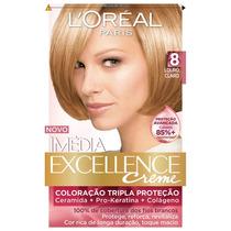 Coloração Loréal Imédia Excellence 8.0 Louro Claro