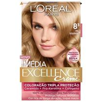 Coloração Loréal Imédia Excellence 8.3 Mel Dourado