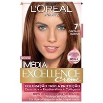 Coloração Imédia Excellence 7.7 Chocolate Dourado