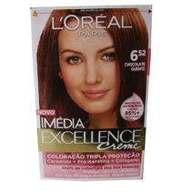 Coloração Imédia Excellence 6.52 Chocolate Quente