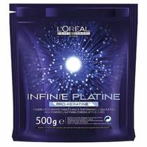 L´oreal Pó Descolorante Infinie Platine Pro Keratine 500g