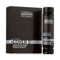 Homme Cover 5 Coloração Em Gel 50ml 3 - Castanho Escuro