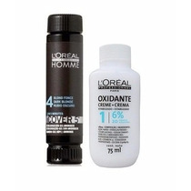 Loreal Cover 5 Nº 04 Castanho 50ml + Oxidante 75ml Kit