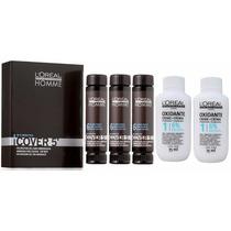 Loreal Cover 5 Nº 06 Louro Escuro 3x50ml + Oxidante 75ml Kit