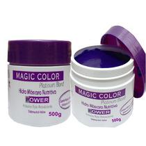 Magic Color Power Desamarelador Hidro Máscara Nutritiva 500g