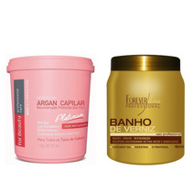 For Beauty Max Illumination Platinum 1kg + Banho De Verniz