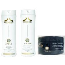 Kit Oikos Apolo Matizador Shampoo+condicionador+máscara 250g
