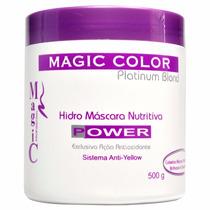 Magic Color Hidro Máscara Nutritiva Power Anti-yellow 500g