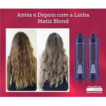Kit Matiz Blond Maxiline Shampoo + Condicionador 300ml Cada