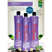 Kit Escova Progressiva Magic Adlux Com 3 Passos E Brinde