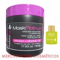 Mascara Black - Matizador Loiro Platinado - Mask Platinum